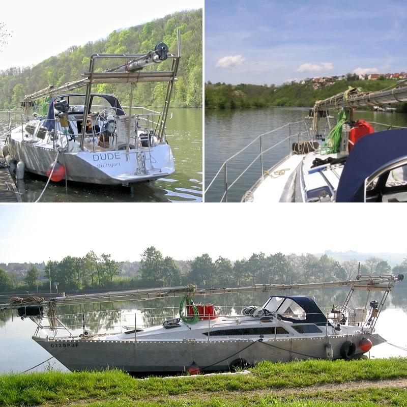 Auf Flüssen und Kanälen in den Süden - Neckar