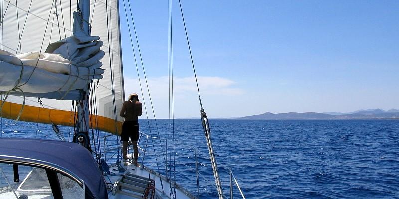 Daysailing - Sardinien im Juli 2005