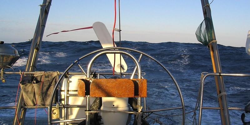 Atlantiküberquerung, Selbststeueranlage auf einer Sonate Ovni