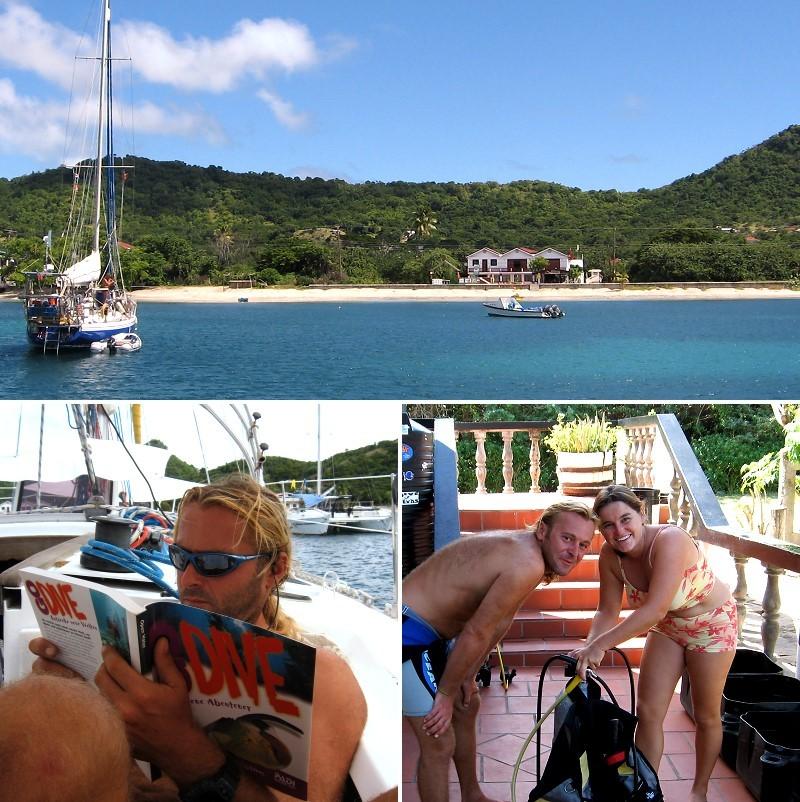 Tyrrel Bay, Carriacou, Tauchkurs