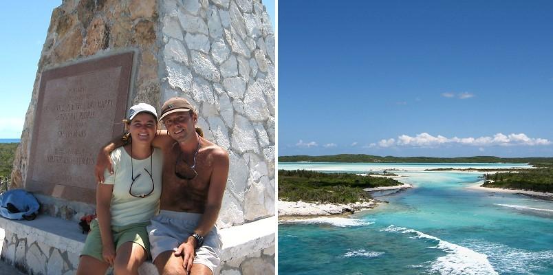 Long Island, Bahamas, Kolumbusdenkmal