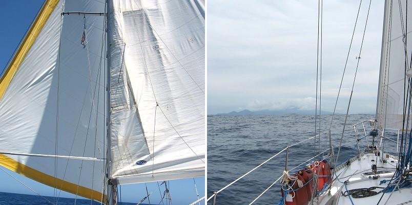 Atlantiküberquerung, Bahamas zu den Azoren