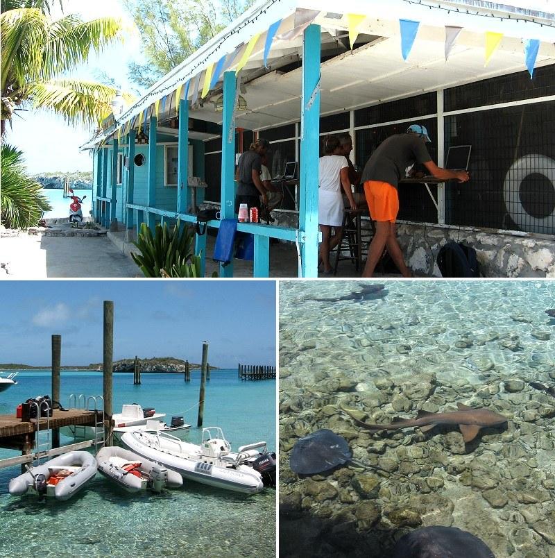 Staniel Cay Yachtclub, Exuma, Bahamas