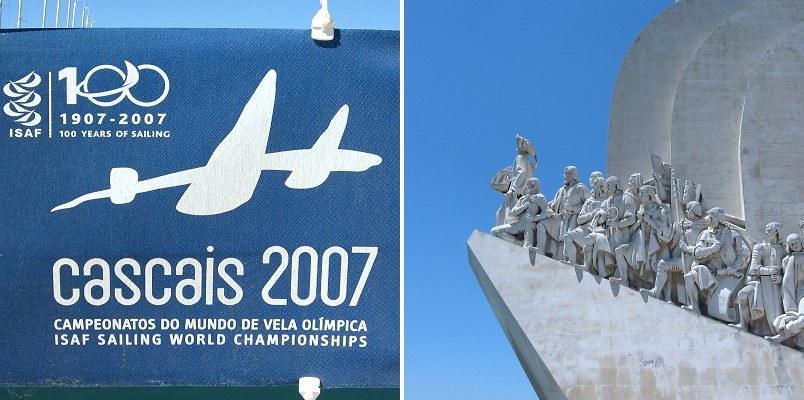 Segel WM Cascais, Seefahrerdenkmal