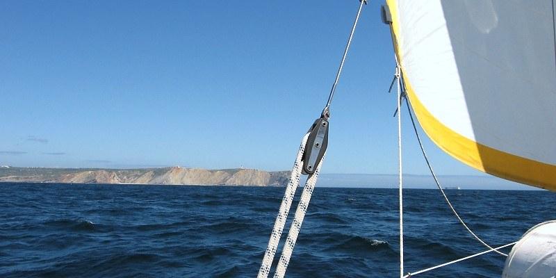 Segeln am Cabo Sao Vicente