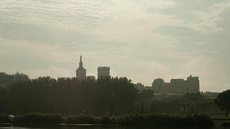 Mit DUDE auf der Rhône - Avignon