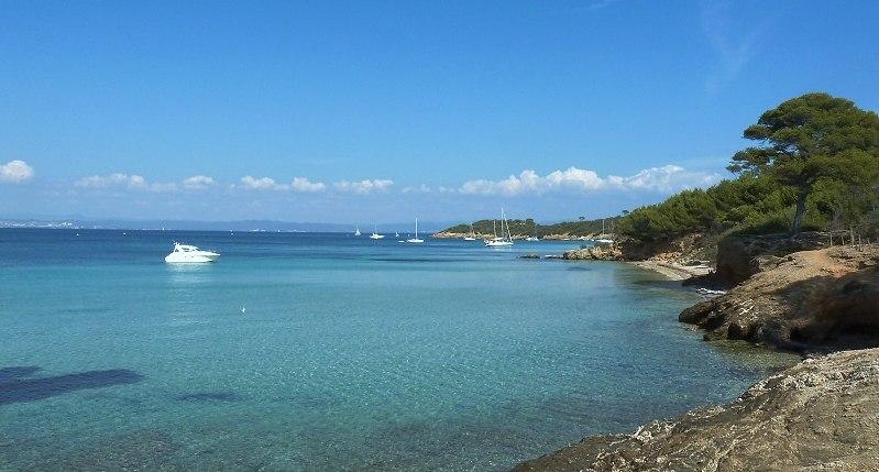Plage de la Courtade, Île de Porquerolles