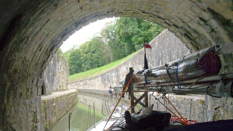 Ausfahrt aus dem Tunnel de Savoyeux