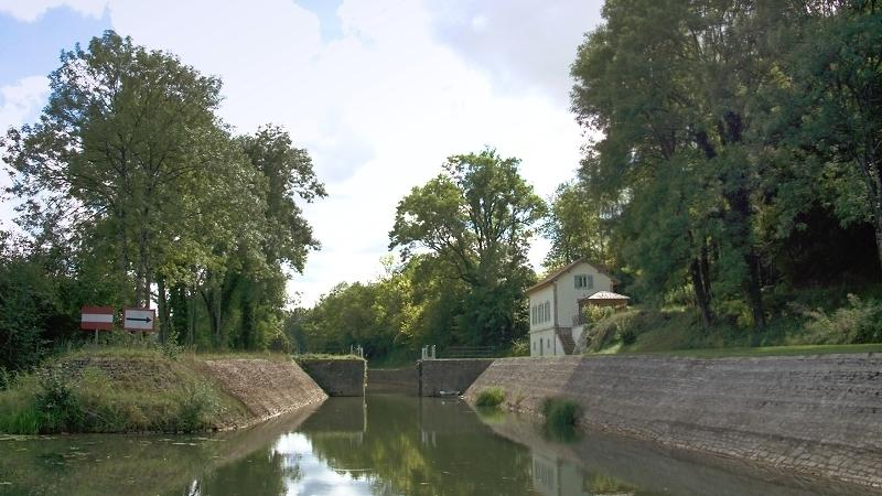 Unterwegs auf der Saône