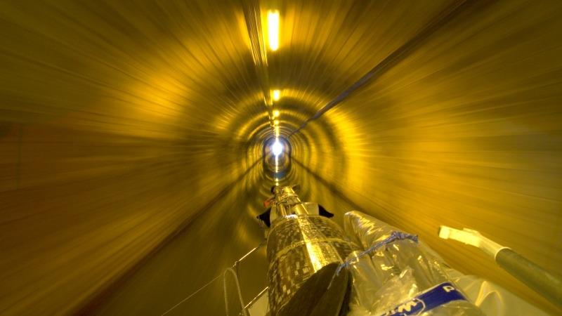 Im Tunnel de Savoyeux