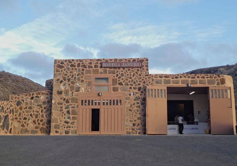 Gebäude des Salzshops, Salinen von Janubio, Lanzarote